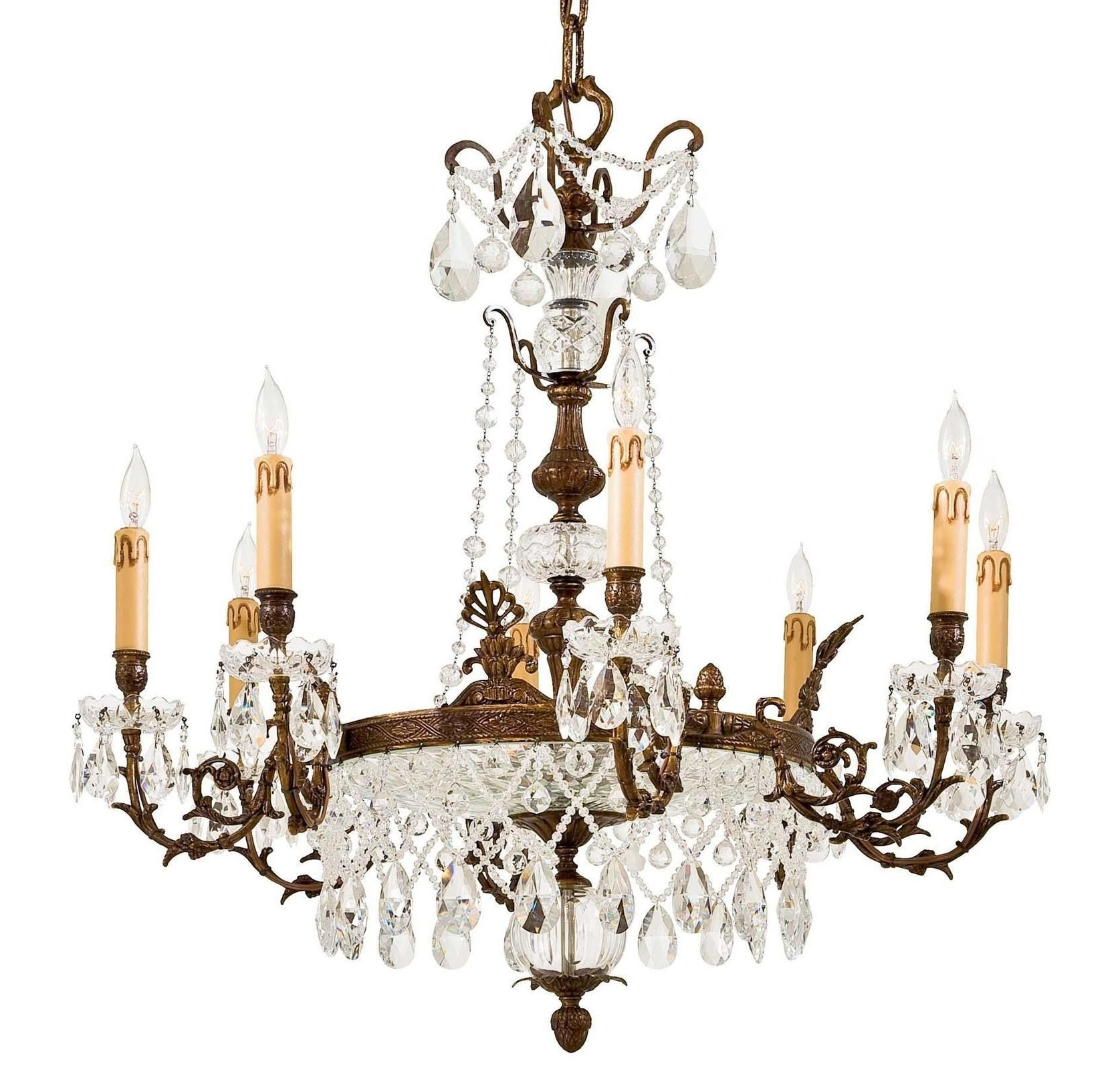 2018 Crystal Chandelier – Metropolitan ( Chandeliers Crystal Antique With Regard To Crystal Gold Chandeliers (View 13 of 20)