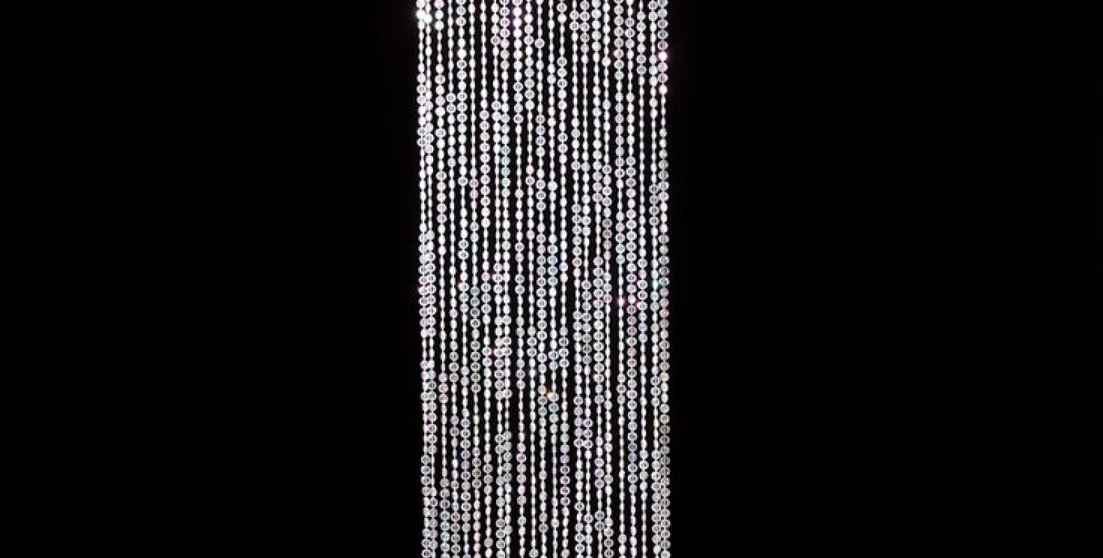 2018 Faux Crystal Chandelier Wedding Bead Strands In Lovable Bocci Lighting Contact Tags : Bocci Chandelier Faux Crystal (View 9 of 20)