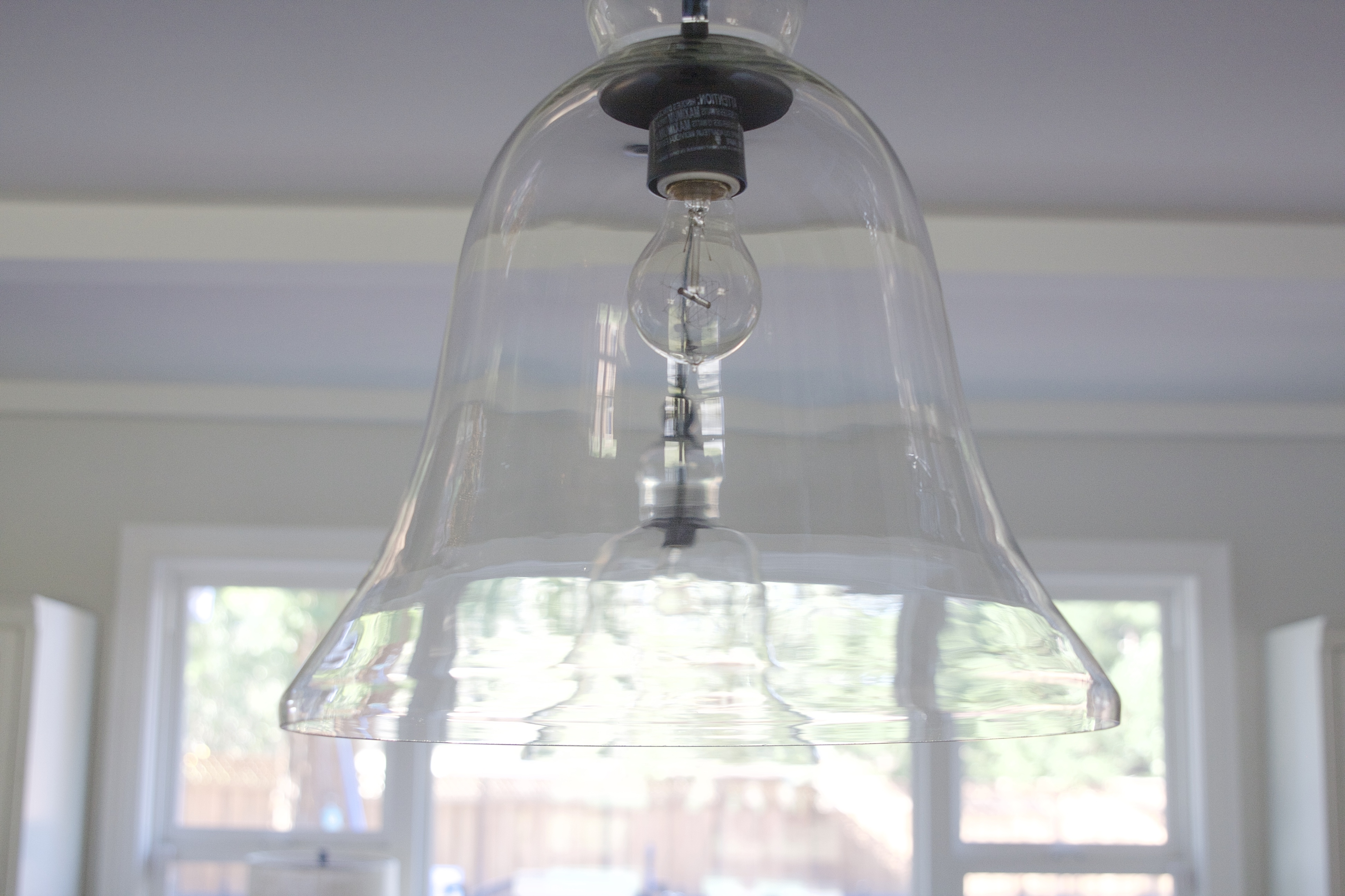 2018 How To Clean Pottery Barn Rustic Pendant Lights – Simply Organized For Clear Glass Chandeliers (View 18 of 20)