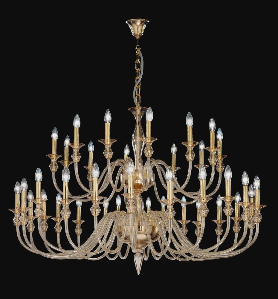 2018 Italian Chandeliers Contemporary In Contemporary Murano Glass Chandelier : Making A Italian Chandeliers (View 1 of 20)
