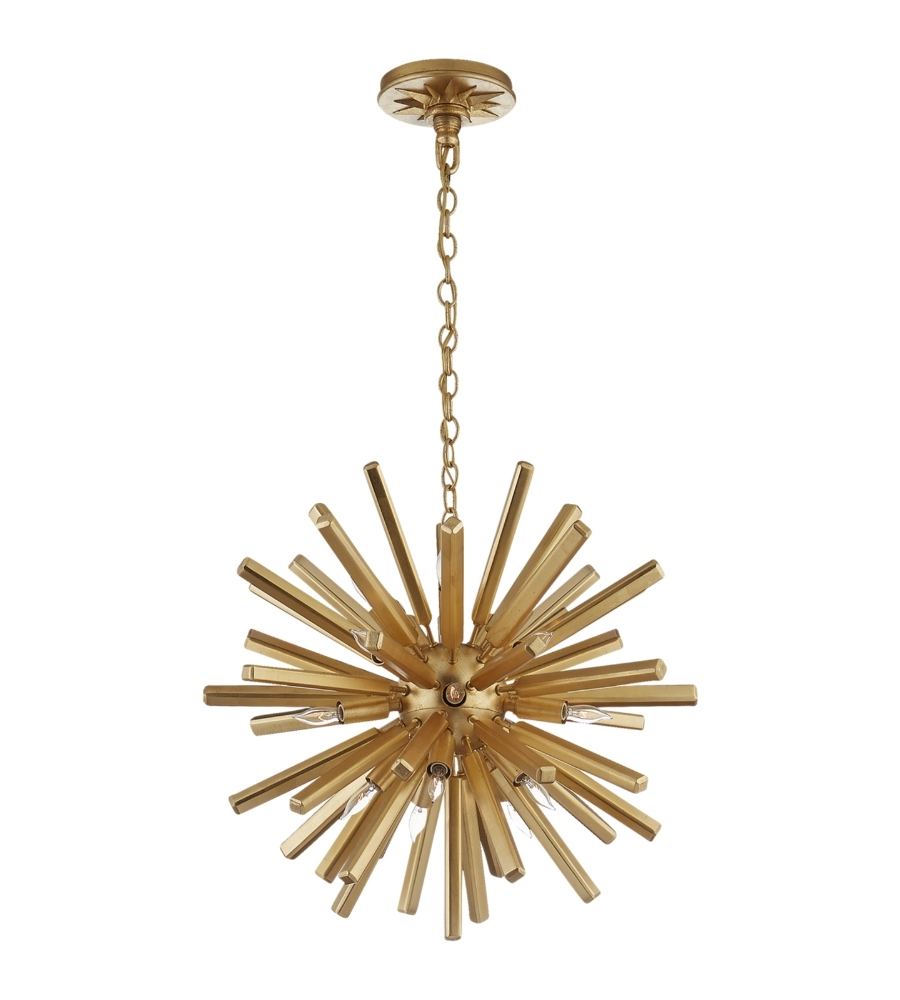 2018 Mini Sputnik Chandeliers With Visual Comfort Chc 3111g E. F (View 3 of 20)