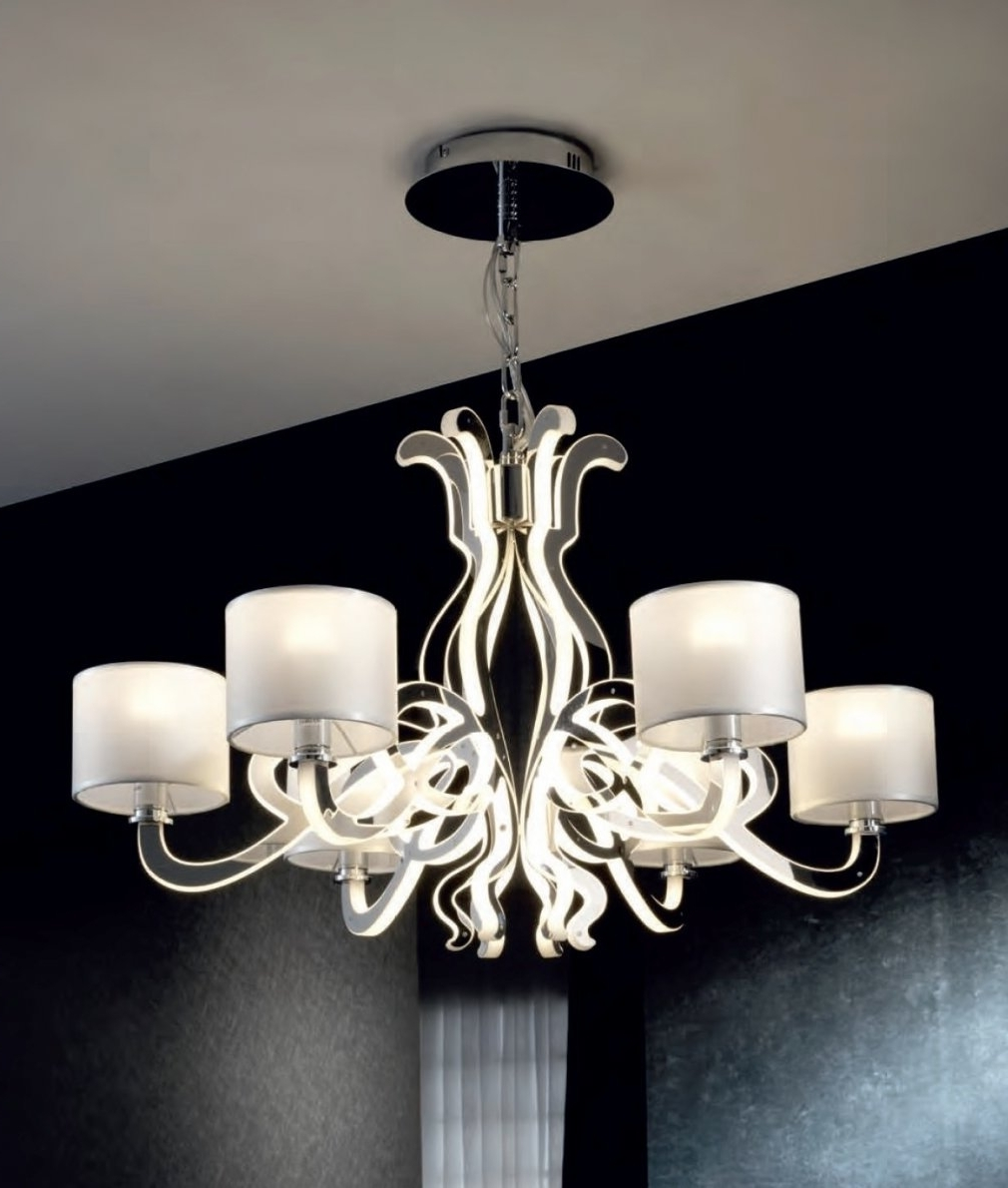 2018 Modern Light Chandelier For Modern Chandeliers Uk (View 2 of 20)