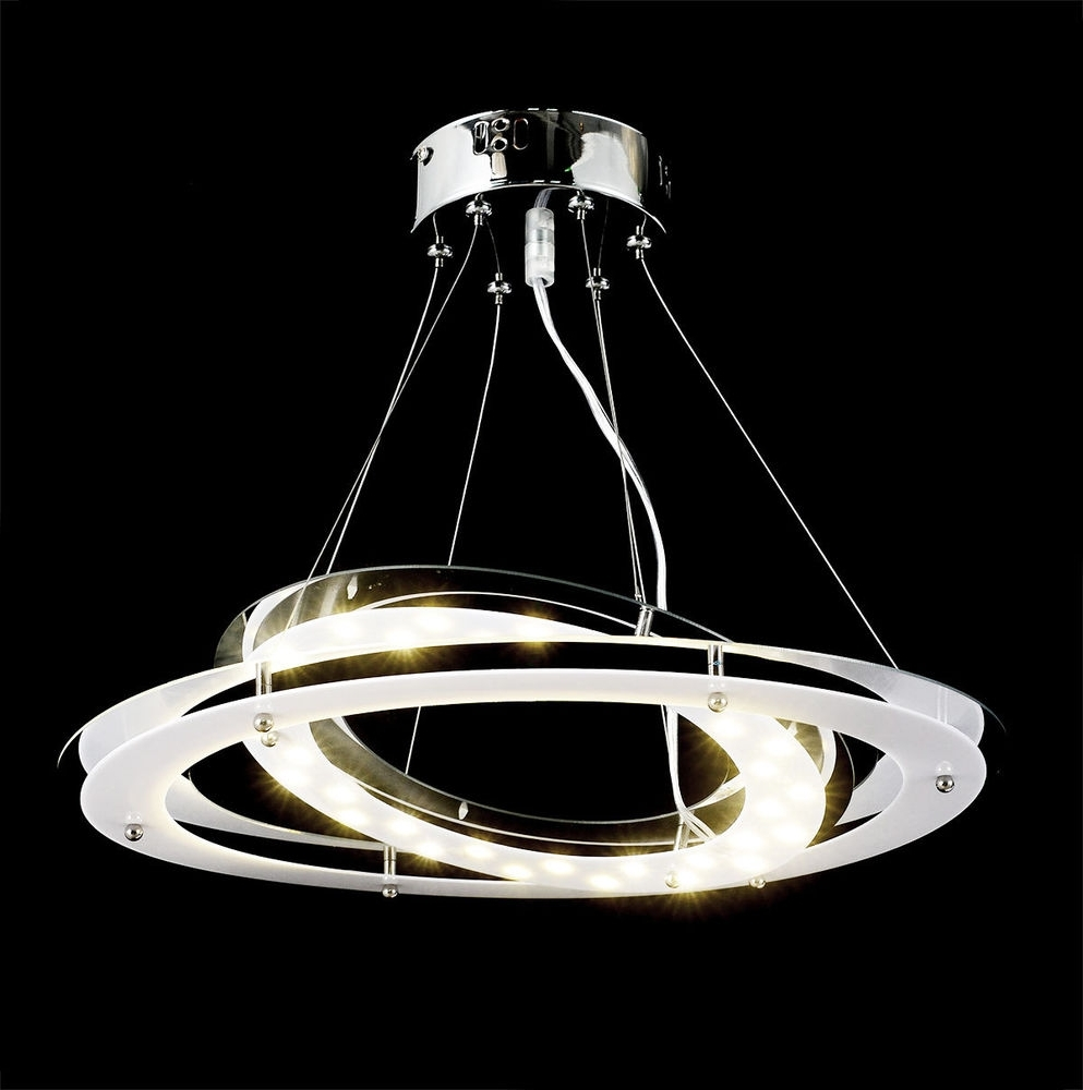 2019 18W, 1700Lm,satur Modern Design Led Chandelier Ceiling Lamp Lighting Pertaining To Modern Led Chandelier (View 1 of 20)
