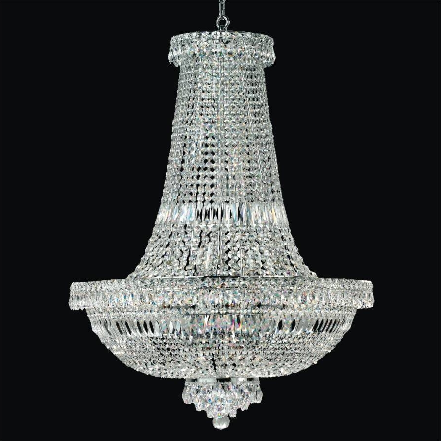 2019 Empire Crystal Chandelier – Large Crystal Chandeliers (View 1 of 20)