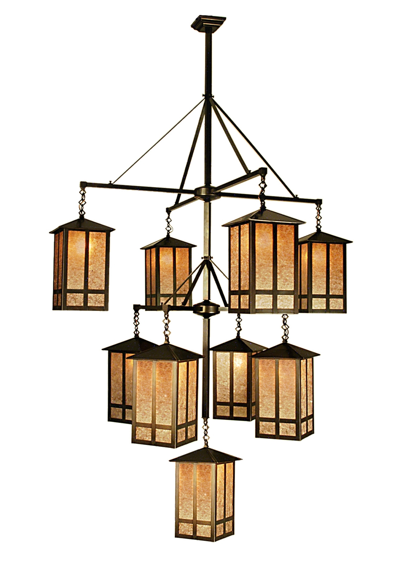 Featured Photo of Indoor Lantern Chandelier