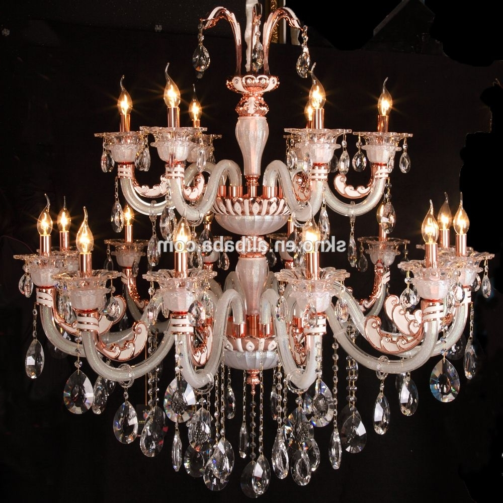 2019 Marvelous Chinese Crystal Chandelier Light Pic For Lighting Trend In Chinese Chandelier (View 7 of 20)