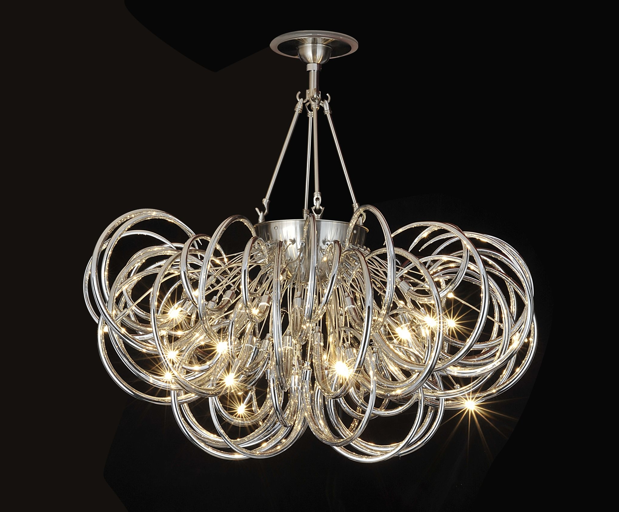 2019 Modern Glass Chandeliers Intended For Amazing Fabulous Modern Glass Chandelier Contemporary Glass (View 10 of 20)