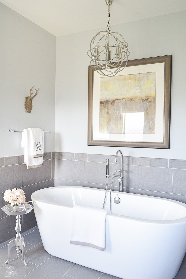 3 Simple Tips For Mixing & Matching Light Fixtures – Zdesign At Home For Most Recently Released Bathroom Lighting With Matching Chandeliers (Gallery 4 of 20)