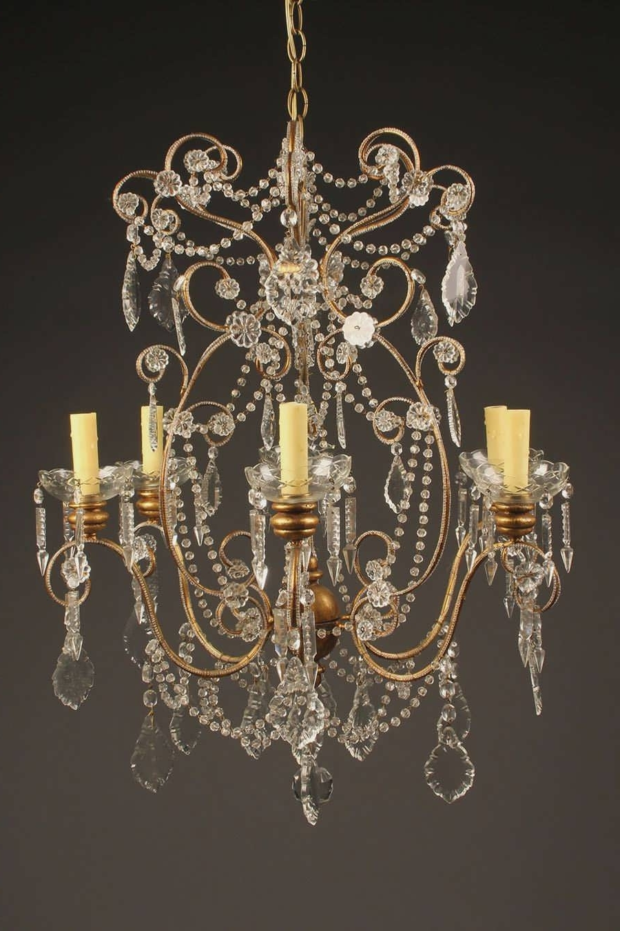 49 Examples Good Vintage Murano Glass Chandelier Ceiling Rustic For Most Up To Date Italian Chandelier Style (Gallery 17 of 20)