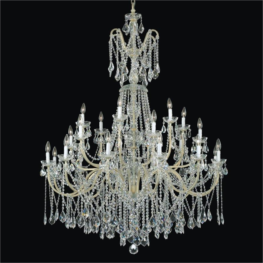 543A – Glow In Crystal Chandeliers (View 3 of 20)