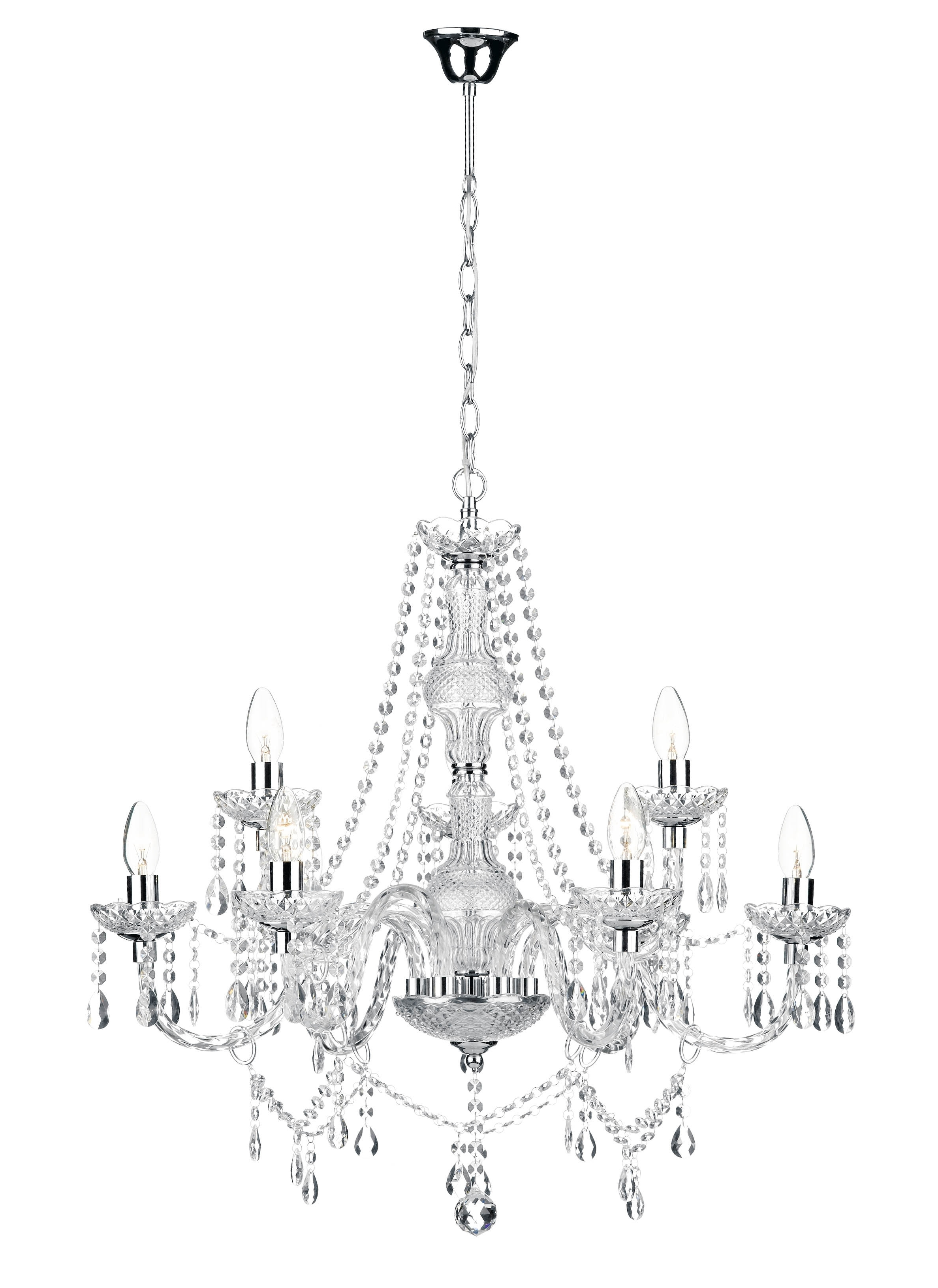 Acrylic Chandelier Lighting With Newest Chandeliers : Acrylic Chandelier Beautiful 34 Unique Colored Crystal (Gallery 17 of 20)