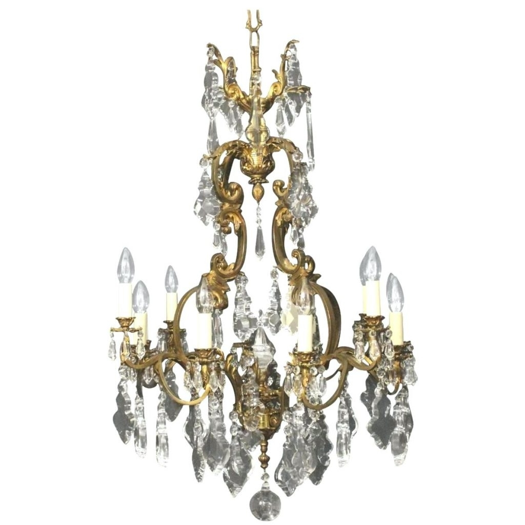 Antique Chandeliers For Favorite Chandeliers Design : Magnificent Antique Chandeliers Vintage Brass (View 20 of 20)