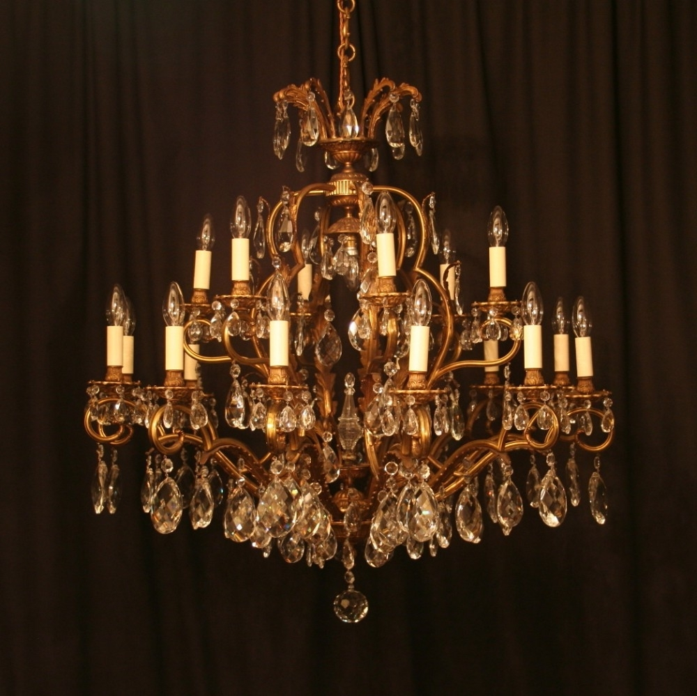Antique Chandeliers For Recent Antique Chandeliers Design And Ideas — Best Home Decor Ideas (View 3 of 20)
