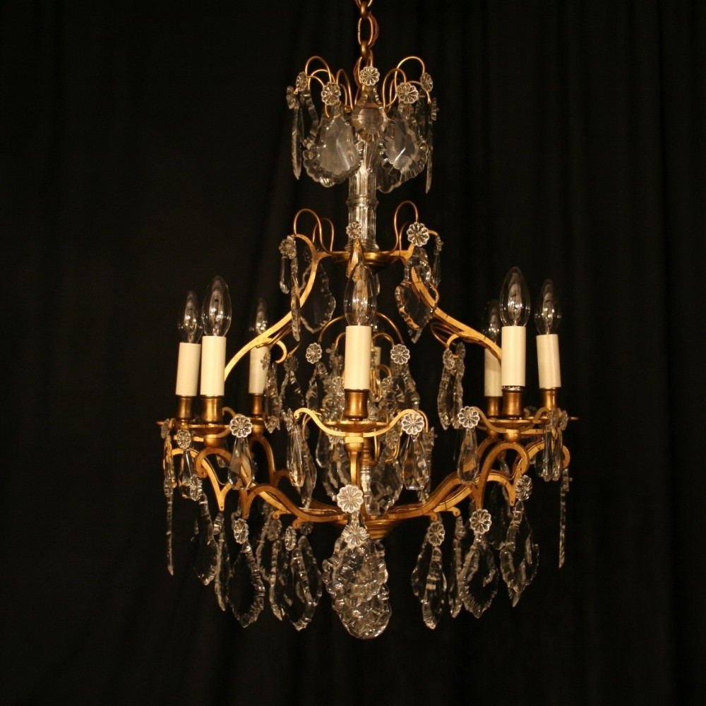 Antique Chandeliers Intended For Well Known Transform Antique Chandeliers Also Home Decoration Ideas With (View 7 of 20)