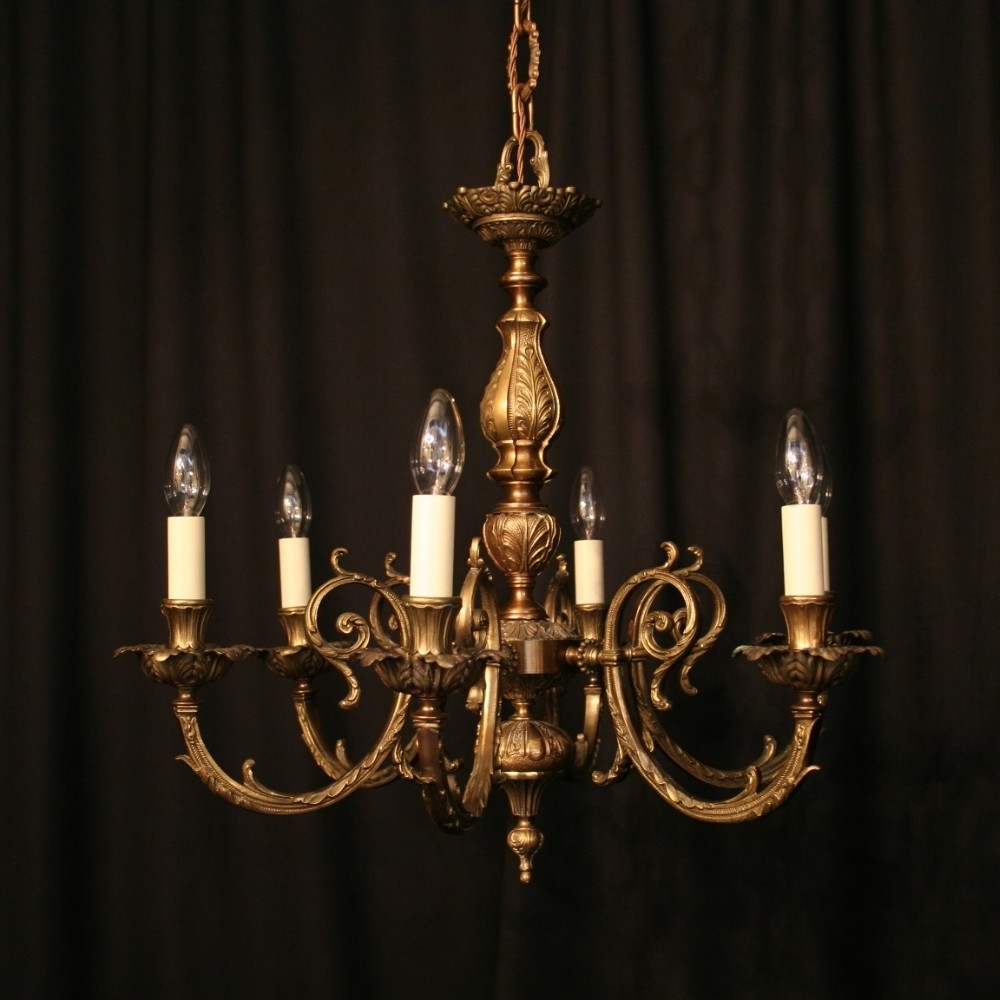 Antique Spanish Chandelier (View 4 of 20)