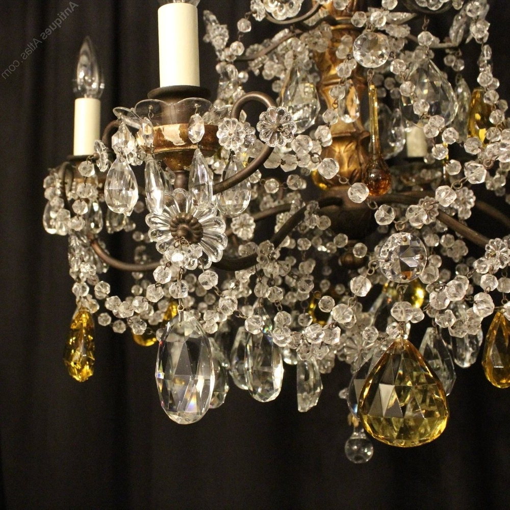 Antiques Atlas – Florentine 6 Light Antique Chandelier Throughout Newest Antique Chandeliers (View 14 of 20)