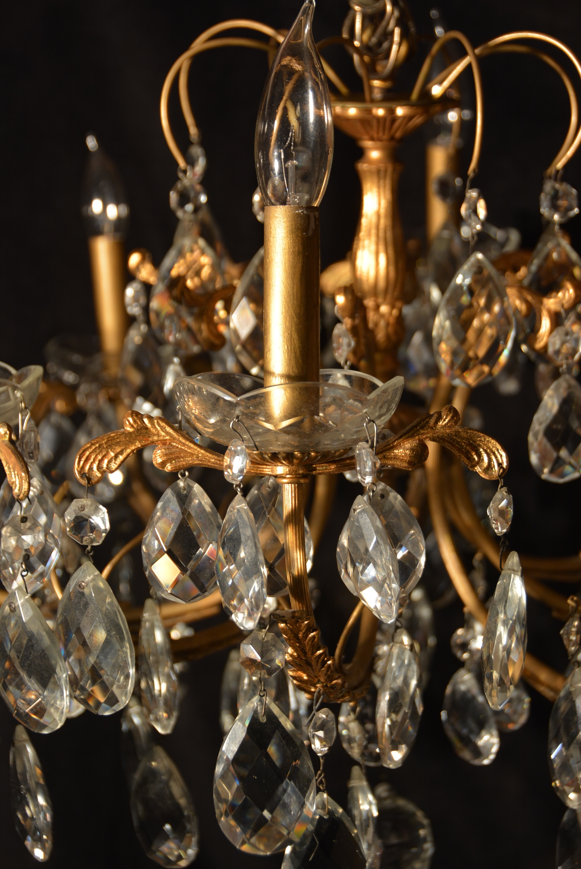 Antiques With French Gold Chandelier (View 2 of 20)