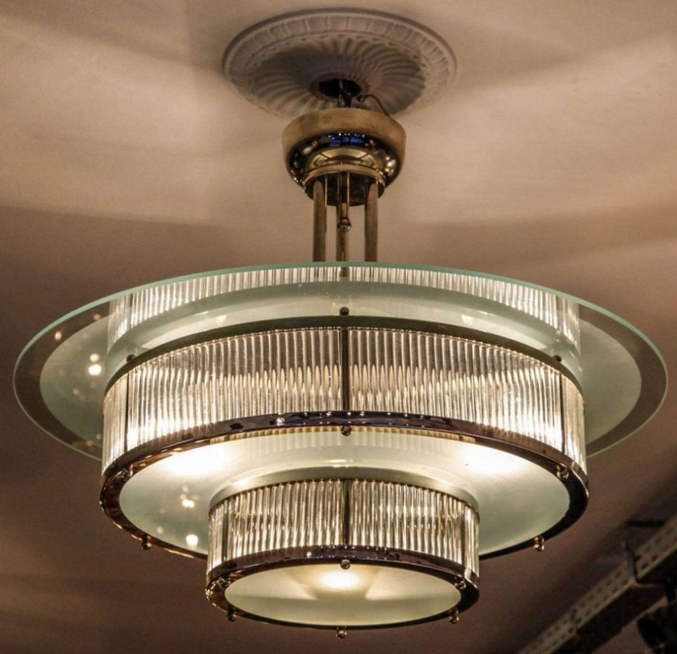 Art Deco Chandeliers Inside Most Recently Released Deco Lamp : Antique Chandeliers For Sale Art Deco Lamp Shades For (View 4 of 20)
