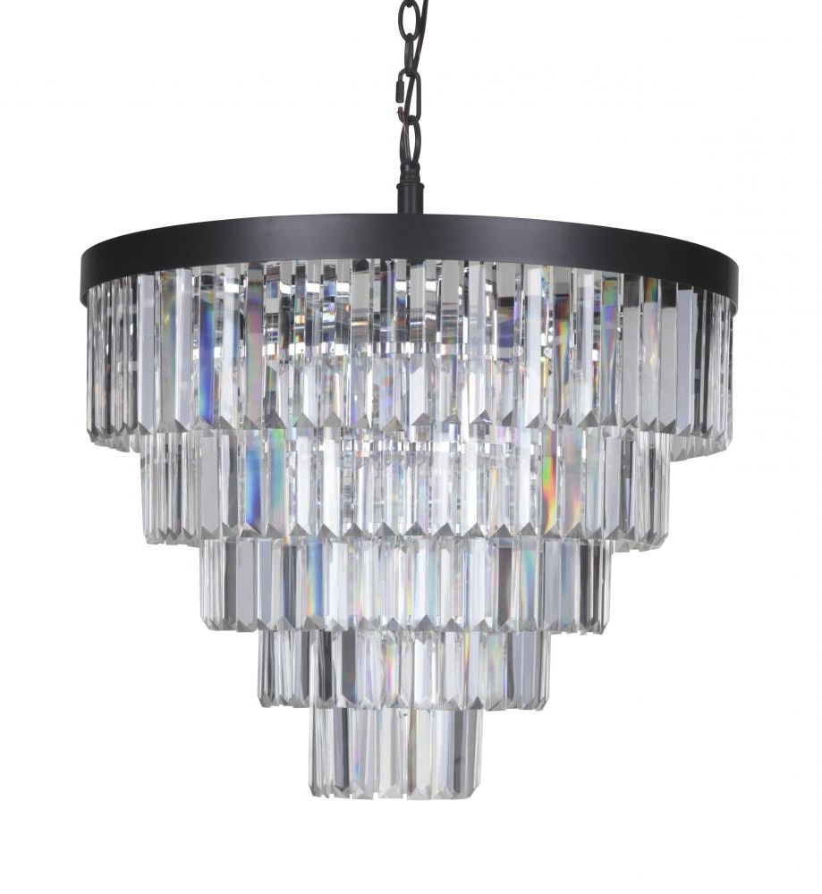 Art Deco Chandeliers Pertaining To Well Liked Art Deco Chandelier – Large :  (View 7 of 20)