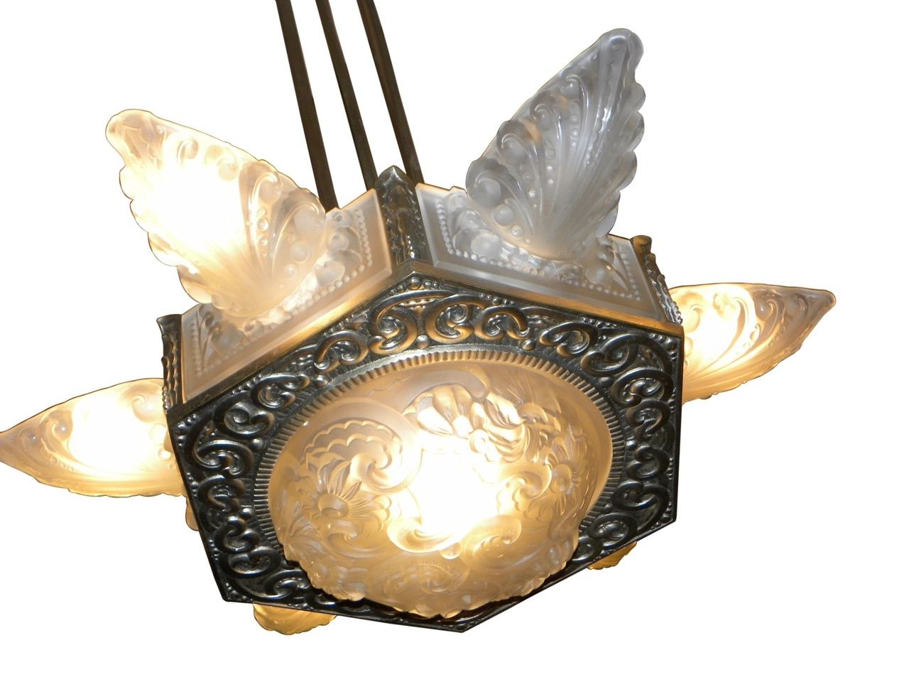 Art Deco Collection With Regard To Large Art Deco Chandelier (View 20 of 20)
