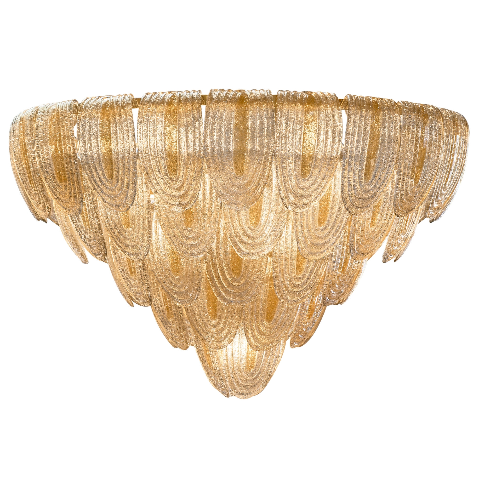 Art Deco Style Murano Glass Chandelier – Jean Marc Fray In Favorite Art Deco Chandelier (View 5 of 20)