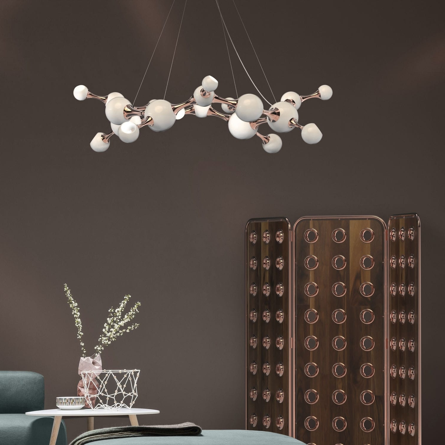 Atom Chandeliers With Most Popular Original Design Chandelier / Brass / Steel / Commercial – Atomic (View 8 of 20)