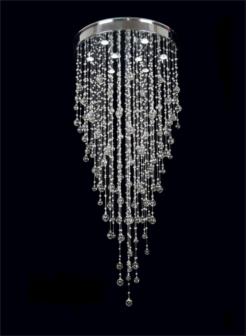 Awesome Unique Crystal Chandeliers Elegant Unique Crystal For Favorite Modern Silver Chandelier (View 2 of 20)