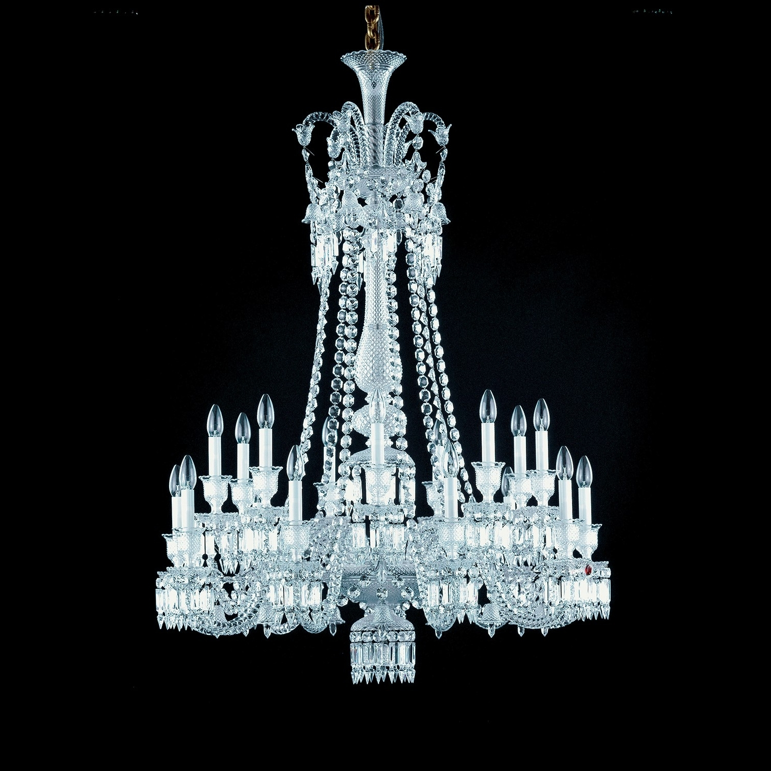 Baccarat Zenith 18 Light Chandelier – Long Pertaining To Well Known Long Chandelier (View 3 of 20)