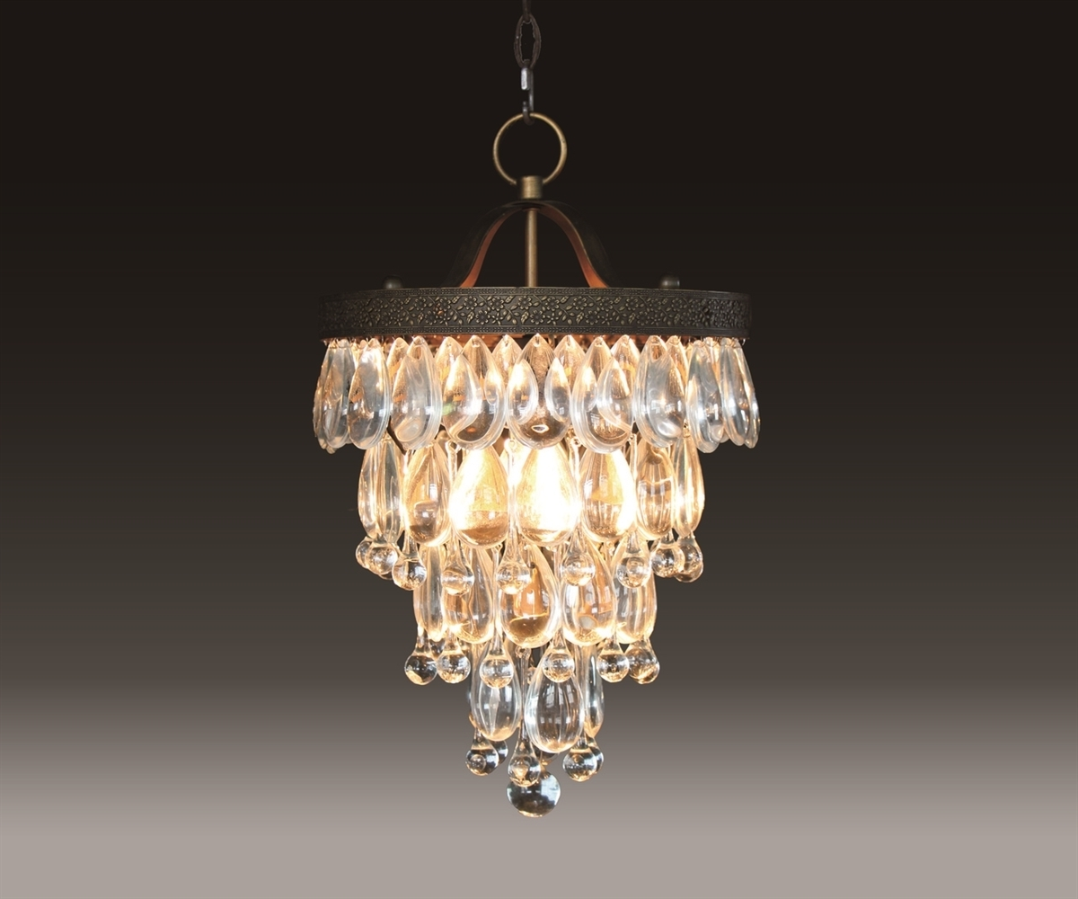 Bardolino Round Glass Drop Chandelier Chan8042 2S With Recent Glass Droplet Chandelier (View 1 of 20)
