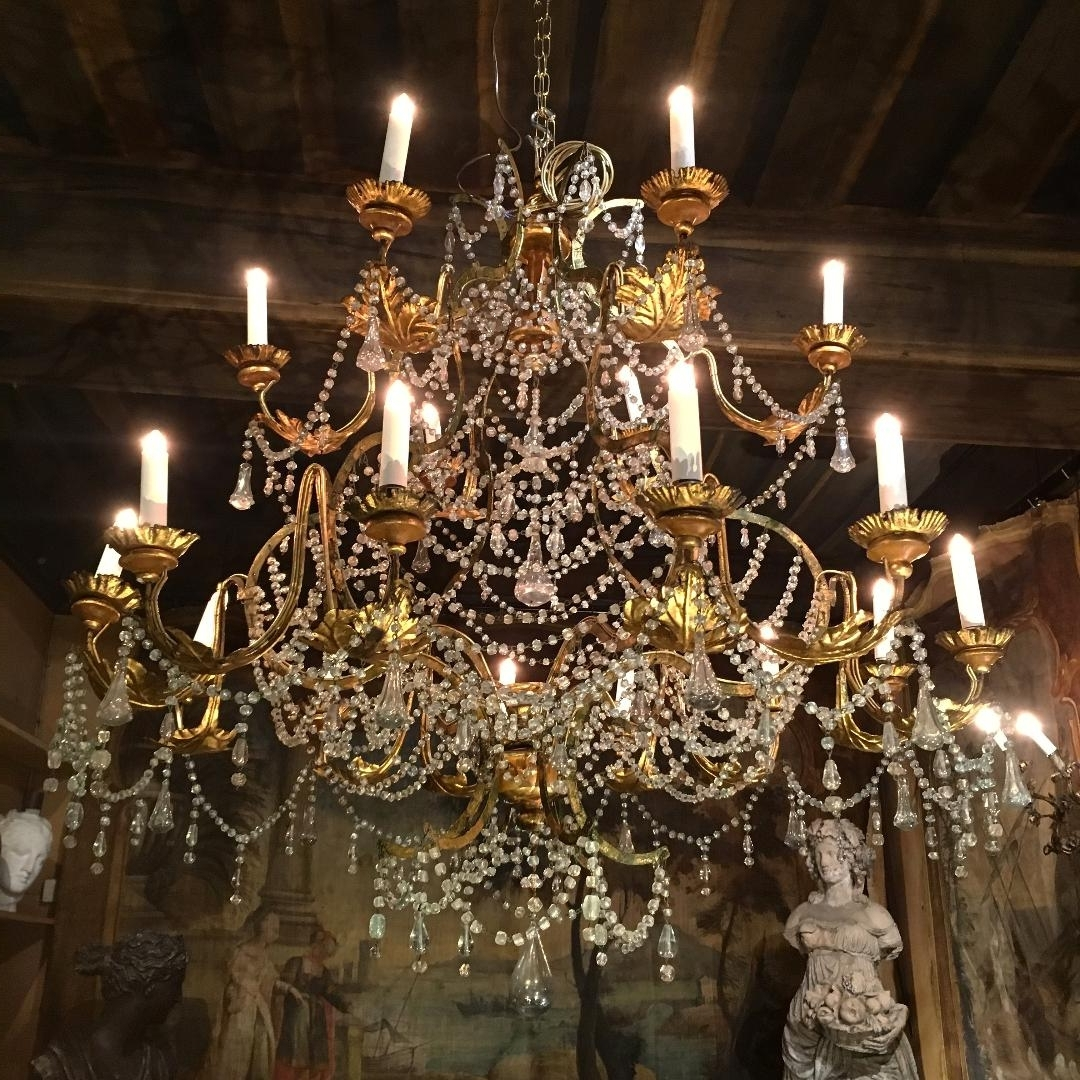 Baroque Chandelier With Regard To Recent 18th C (View 7 of 20)