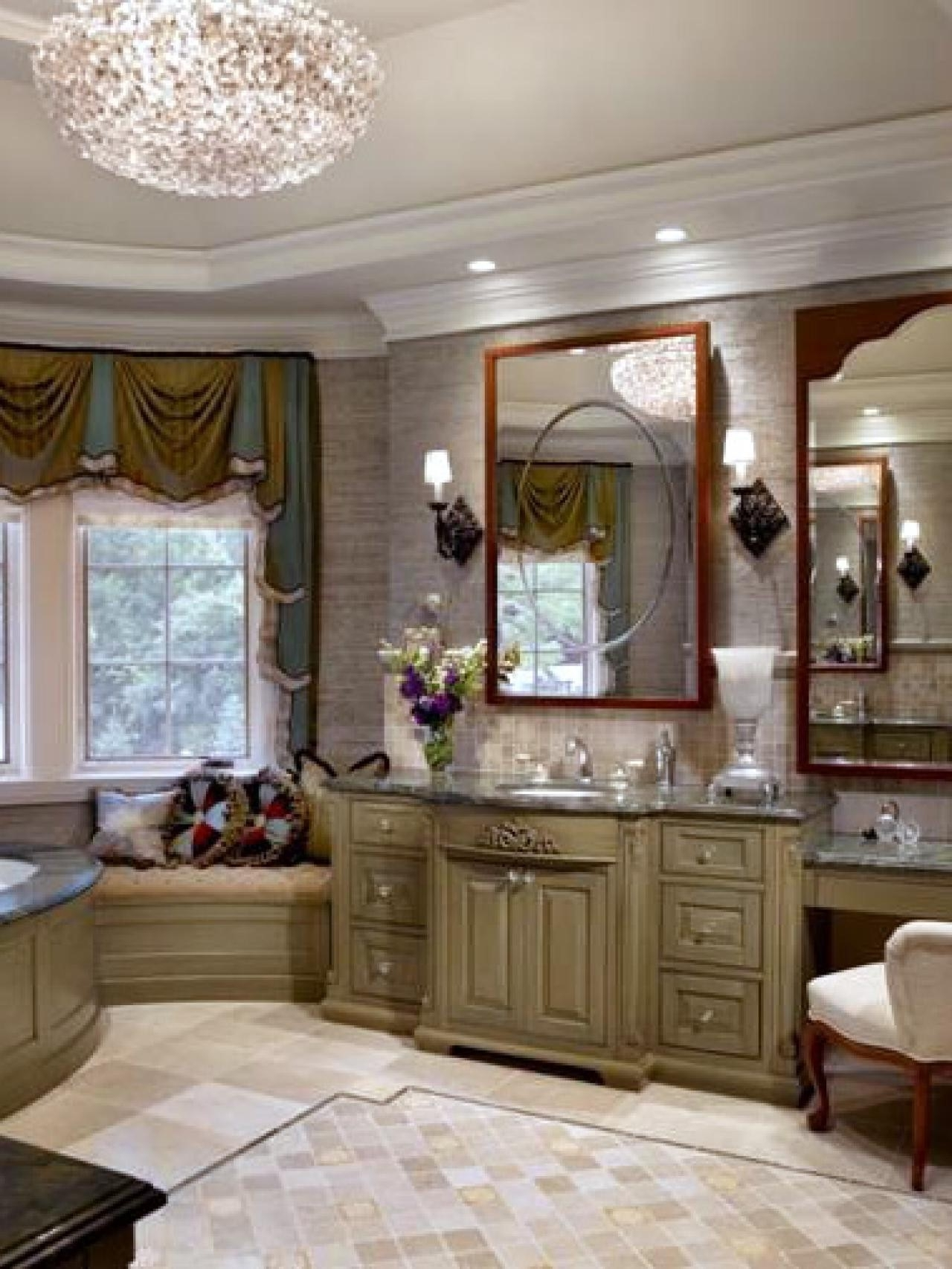 Bathroom Lighting With Matching Chandeliers Intended For Most Recently Released Incredible Chandelier Bathroom Lighting Lighting Bathroom Lighting (View 10 of 20)