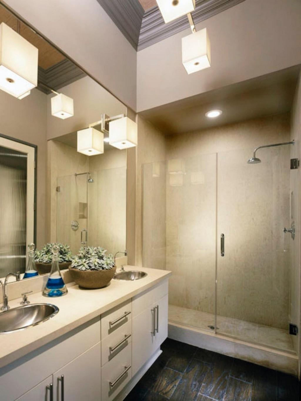 Bathroom Lighting With Matching Chandeliers Regarding Most Recent Chandeliers Design Wonderfulathroom Lights Hanging Ceiling Lighting (View 17 of 20)