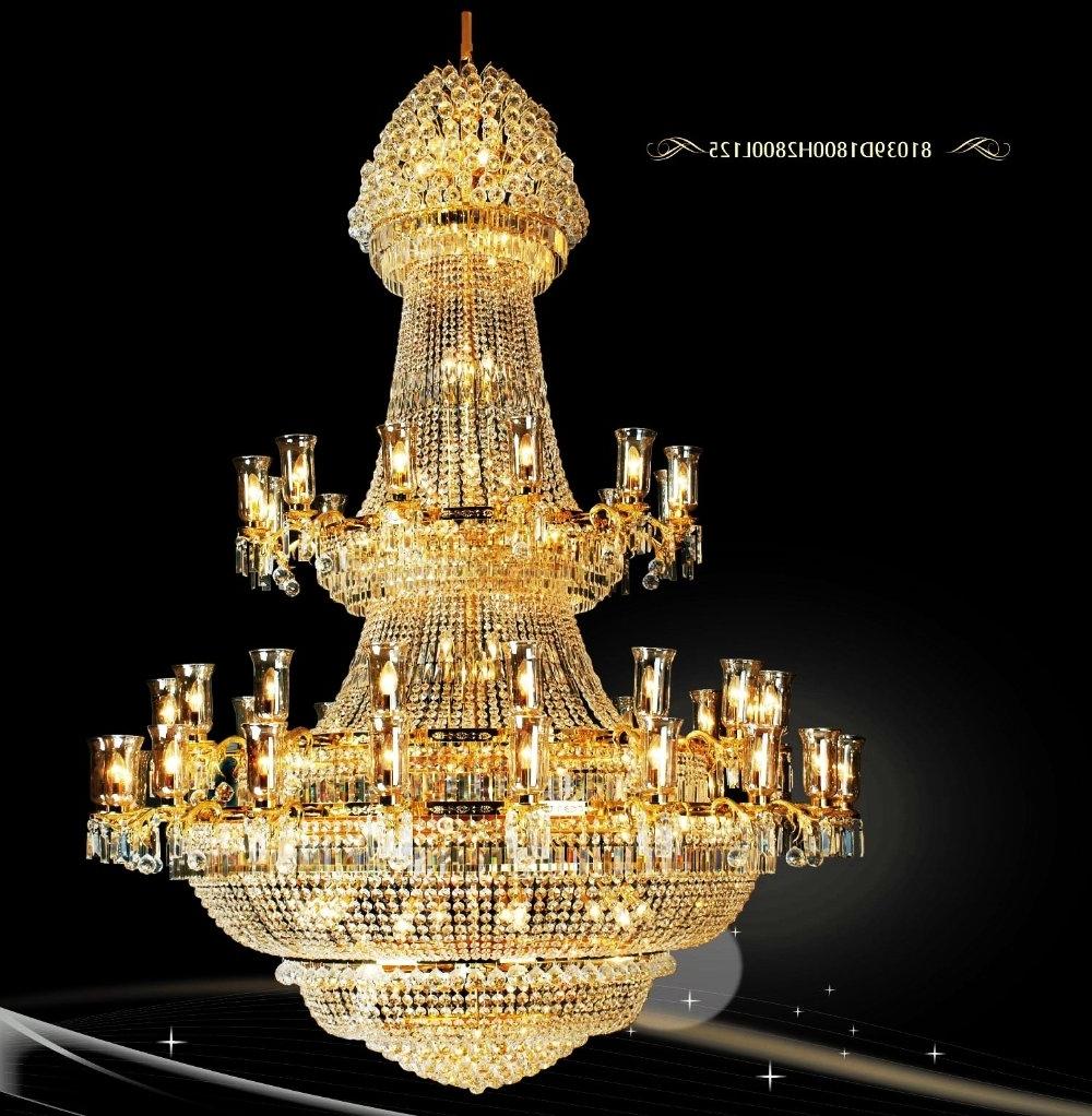 Beautiful Chandelier In Trendy Free Shipping!!!)Beautiful Modern Fashion Big Chandelier Best Design (View 2 of 20)