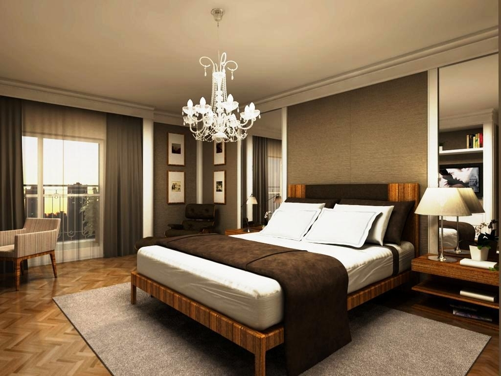 Bedroom Chandeliers For Your Home Inside Fashionable Bedroom Chandeliers (View 4 of 20)