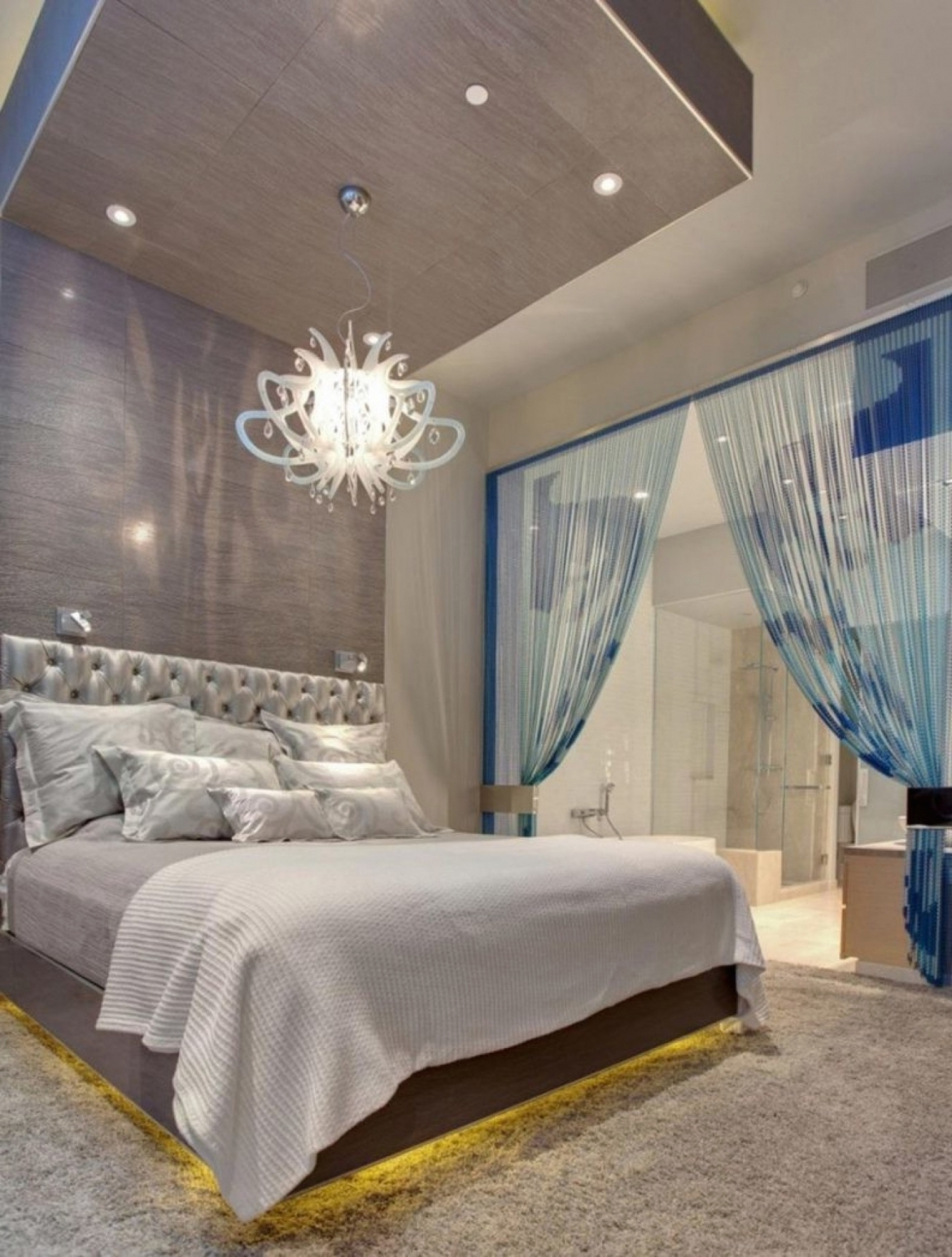 Bedroom Chandeliers With Most Up To Date Home Decor: Photos Of Chandeliers In Bedrooms Chandelier Size For (View 9 of 20)
