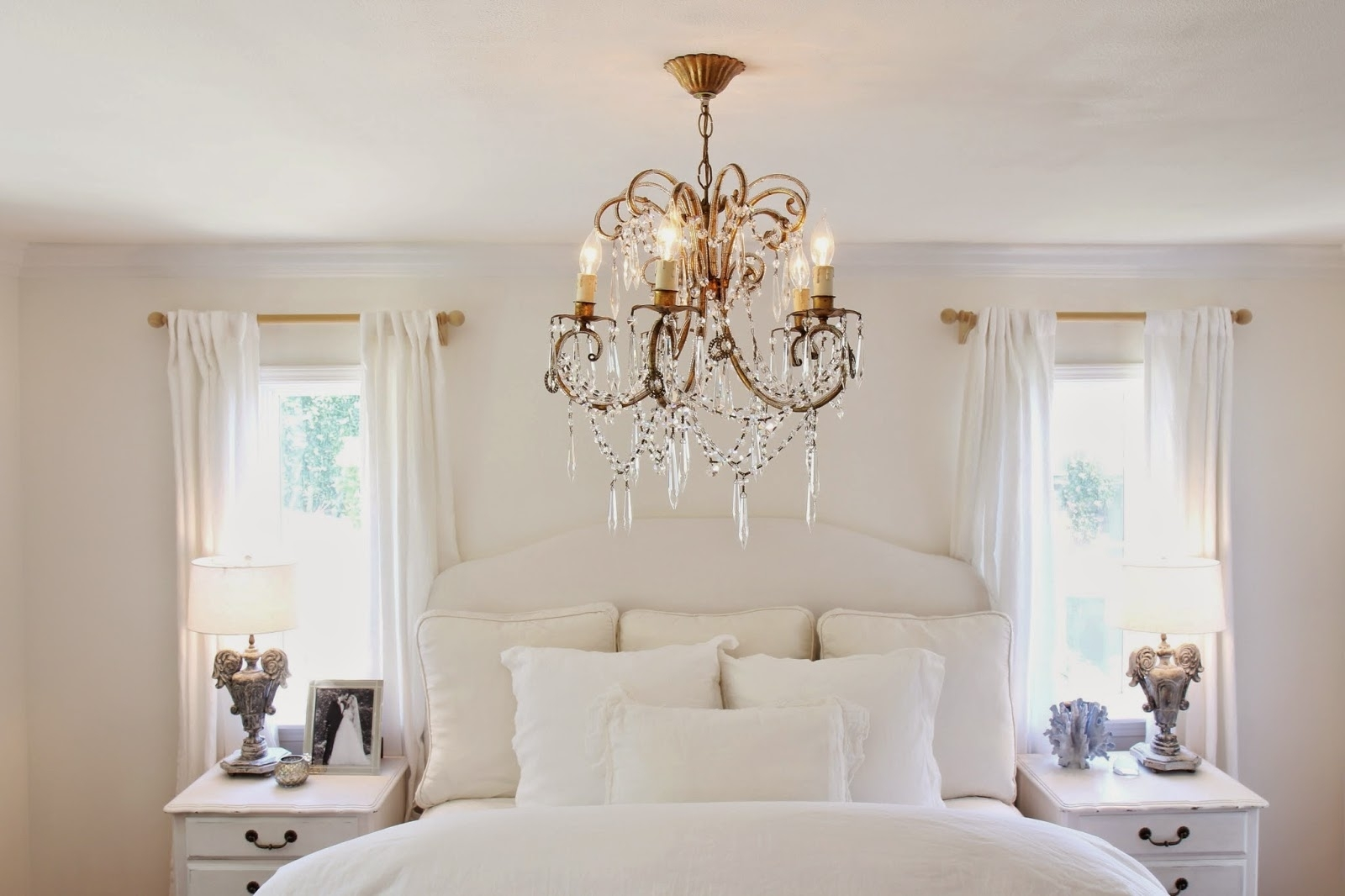 Bedroom Chandeliers With Regard To Trendy Nora's Nest: A Chandelier For The Master Bedroom (View 11 of 20)