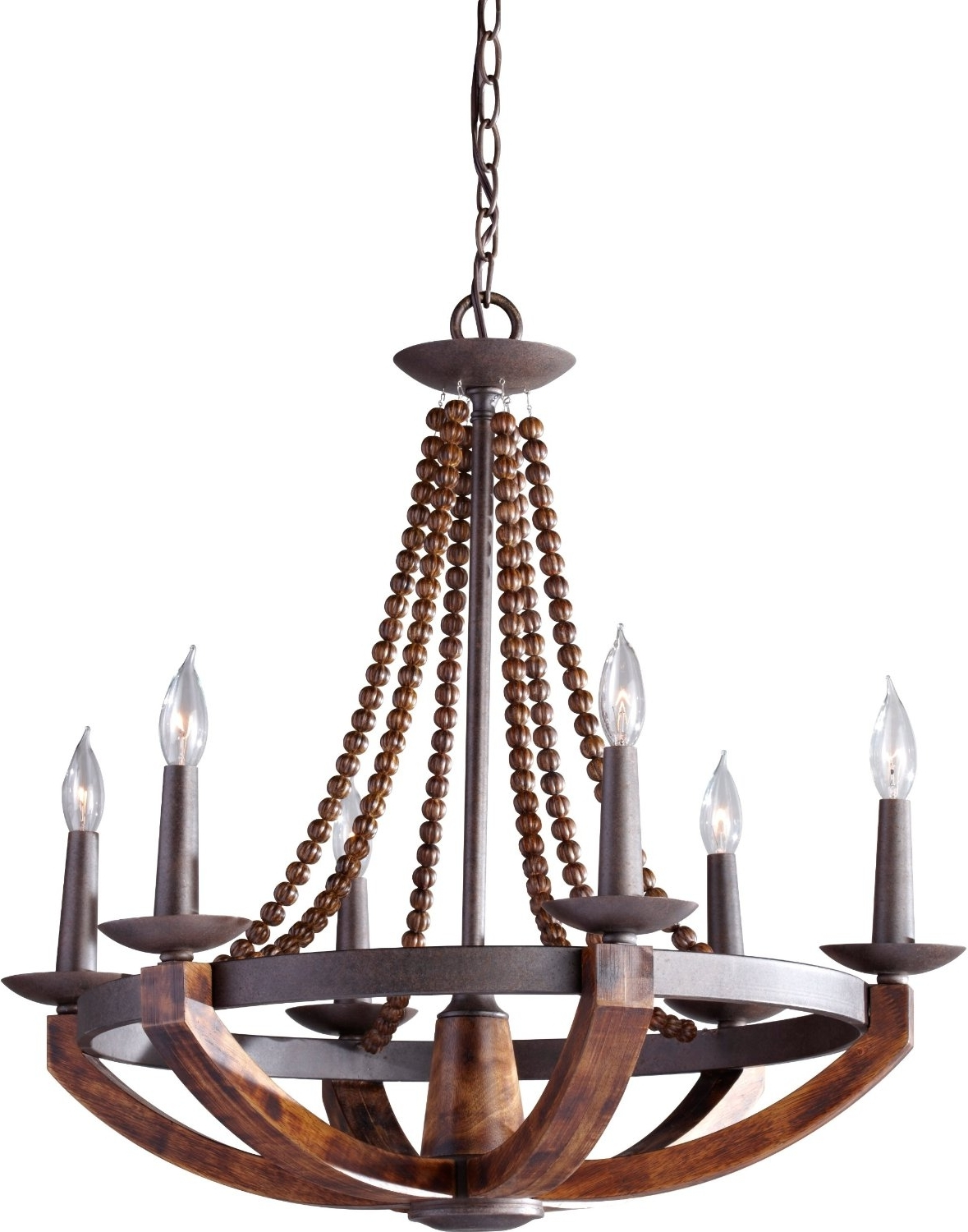 Best And Newest 12 Best Rustic Wood And Metal Chandeliers (View 6 of 20)
