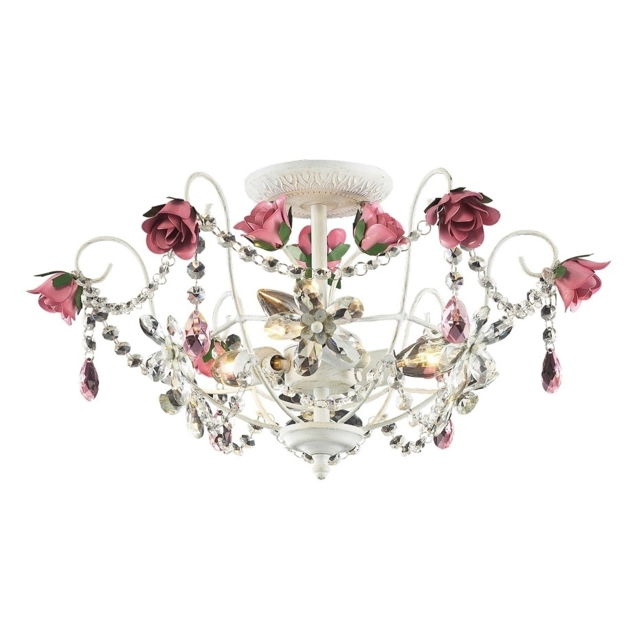 Best And Newest Chandelier: Stunning Girls Chandeliers Small Crystal Chandeliers Pertaining To Mini Chandeliers For Nursery (View 2 of 20)
