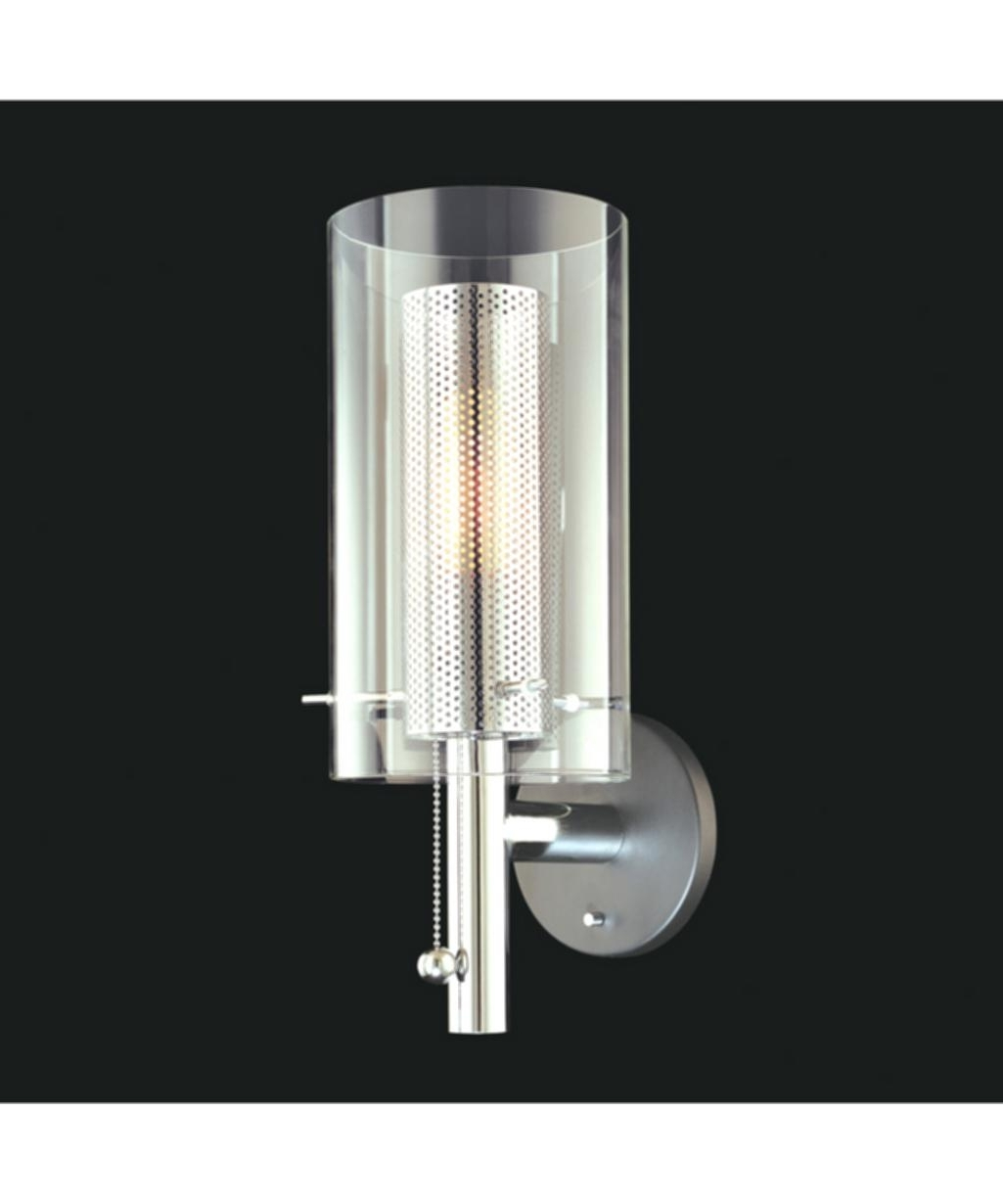 Best And Newest Chandelier Wall Light Bathroom Modern Bathroom Wall Sconces Lighting Intended For Bathroom Chandelier Wall Lights (View 14 of 20)