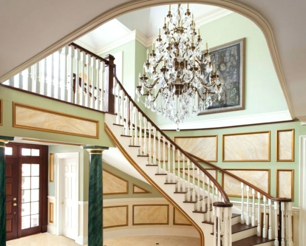 Best And Newest Chandeliers Design : Magnificent Chandeliers For Foyer Hallway With Regarding Hallway Chandeliers (View 14 of 20)
