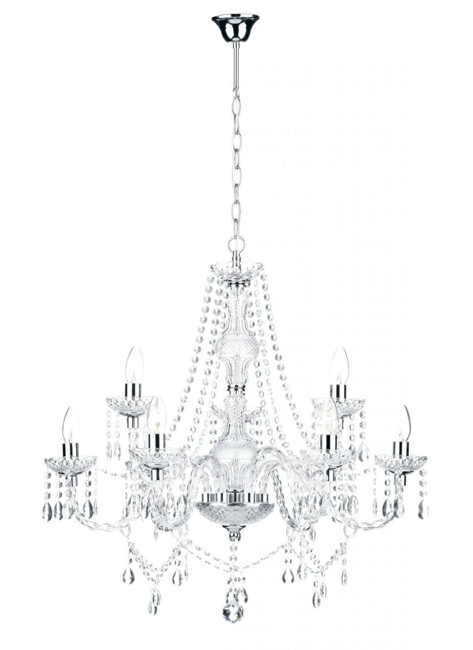 Displaying Gallery Of Lead Crystal Chandeliers View Of Photos - Schonbek chandelier replacement crystals