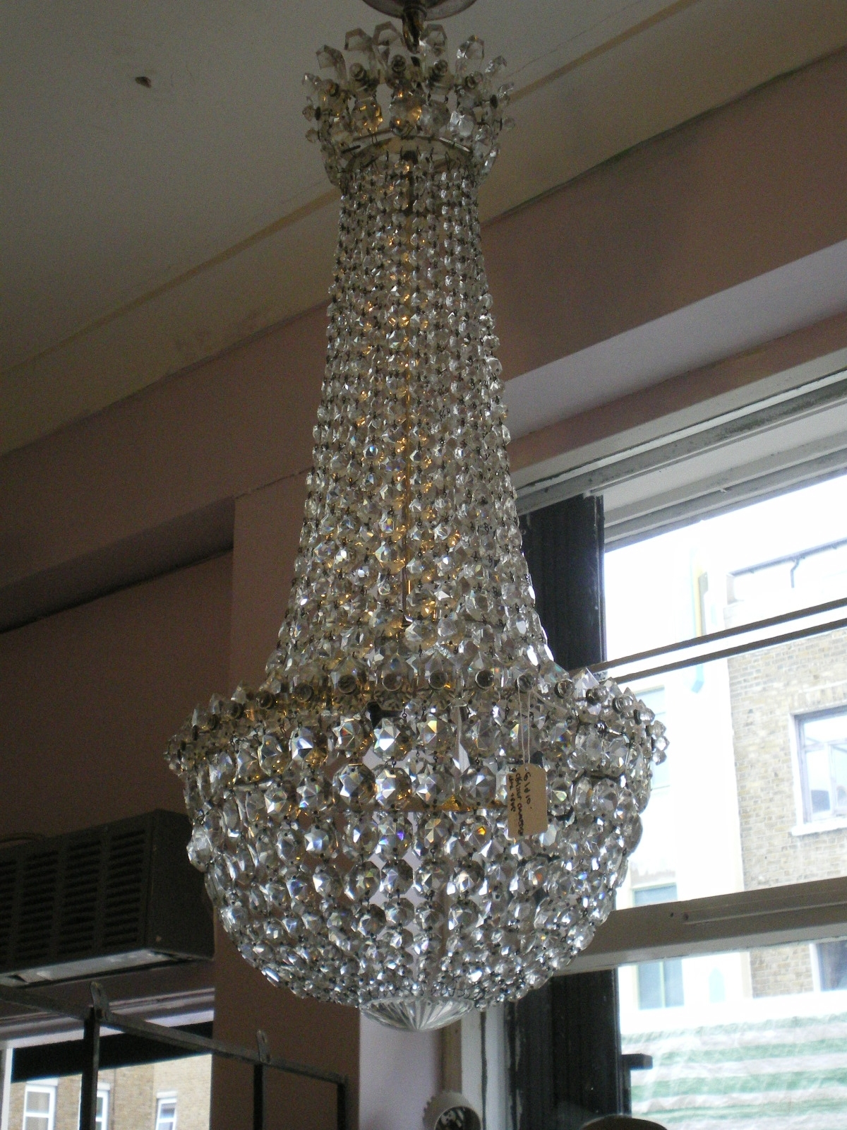 Best And Newest Edwardian Crystal Chandelier, Possibly Waterford (View 4 of 20)
