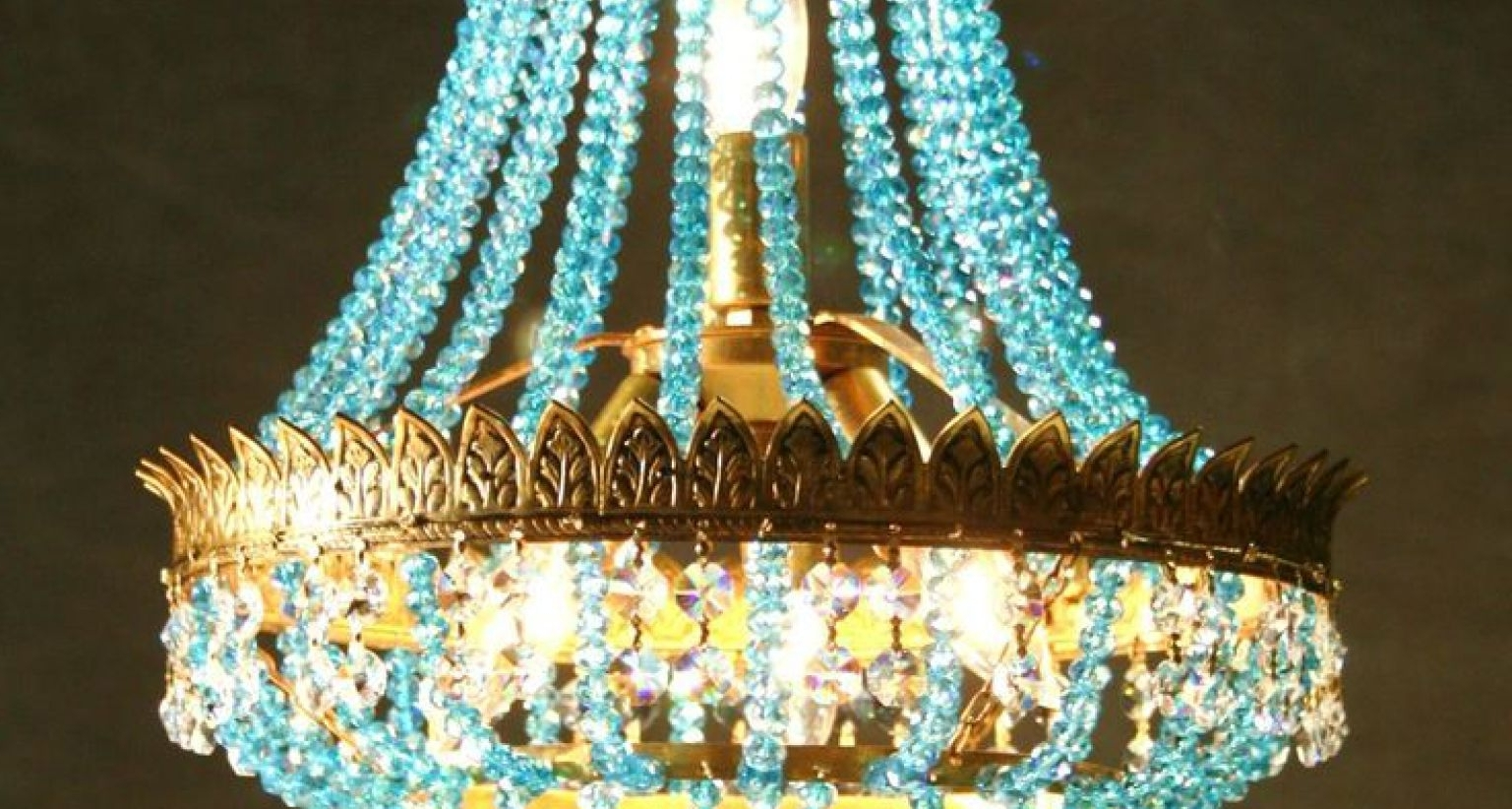 Best And Newest Faux Crystal Chandelier Wedding Bead Strands Within Chandelier : Crystal Acrilyc Bead Curtain Stunning Faux Crystal (View 4 of 20)