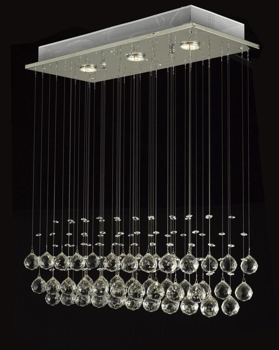 Best And Newest J10 C9074 339 Gallery Modern / Contemporary Raindrop Crystal Intended For Modern Light Chandelier (View 5 of 20)