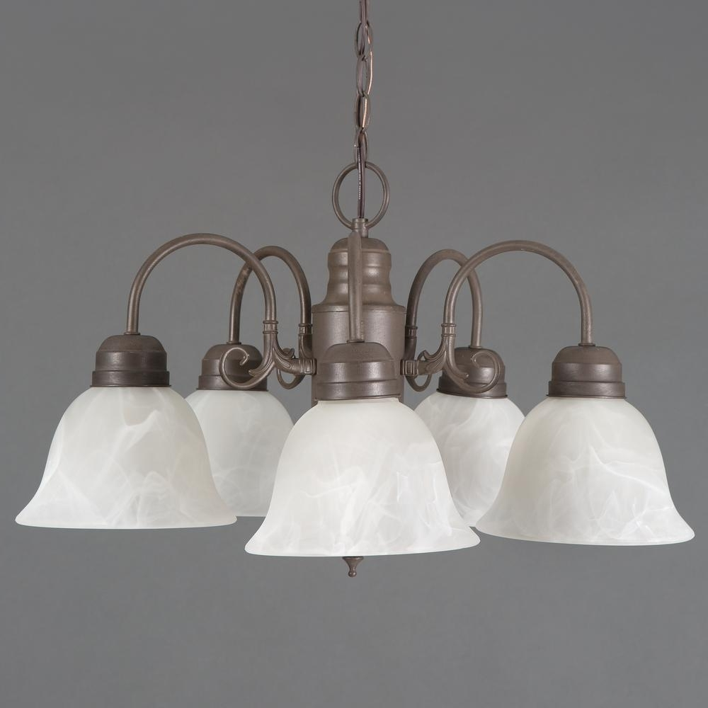 Best And Newest Long Hanging Chandeliers With Yosemite Home Decor Manzanita Collection 5 Light Dark Brown Hanging (View 16 of 20)