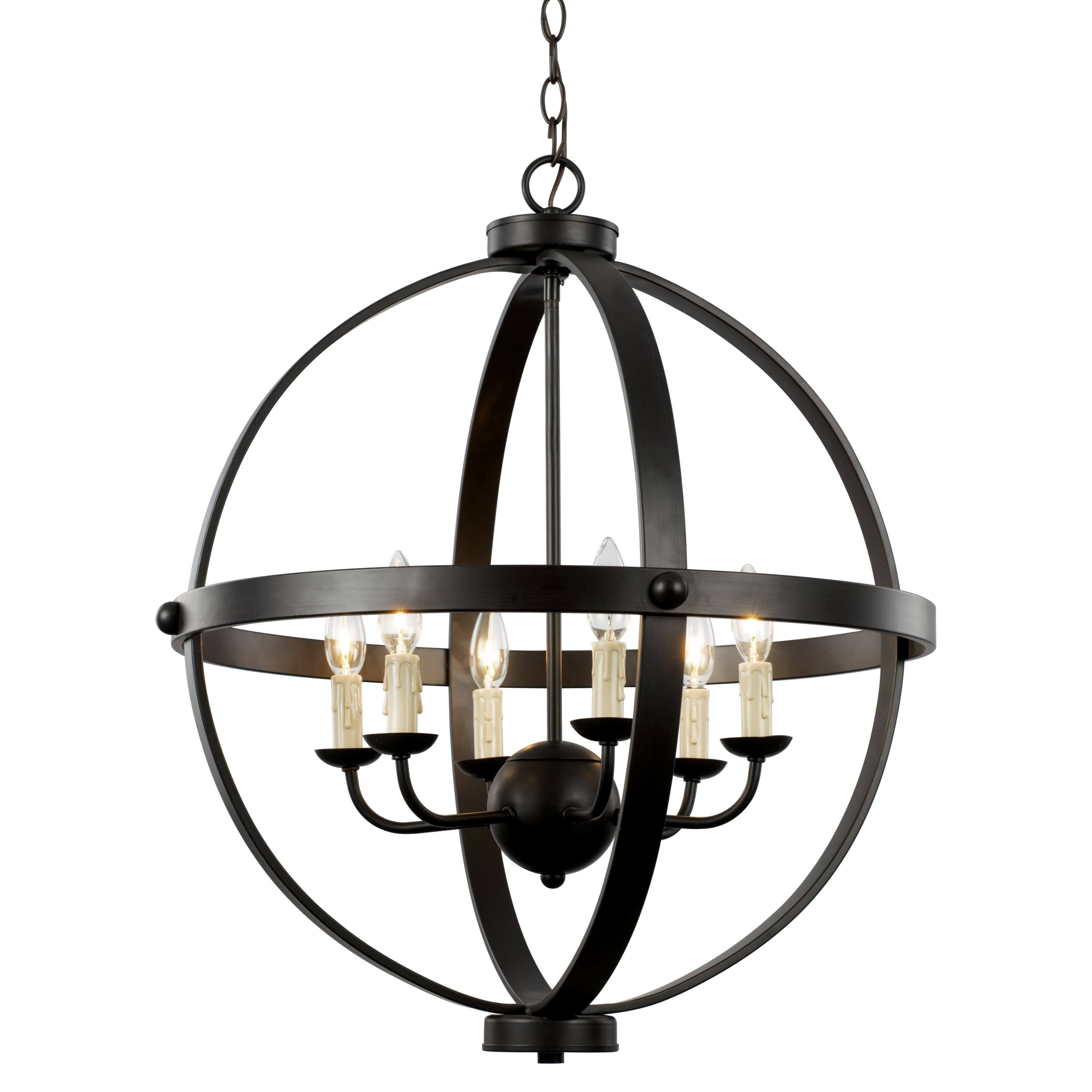 Best And Newest Metal Ball Chandeliers Pertaining To Chandeliers Design : Amazing Glass Ball Chandelier Modern Orb (View 3 of 20)