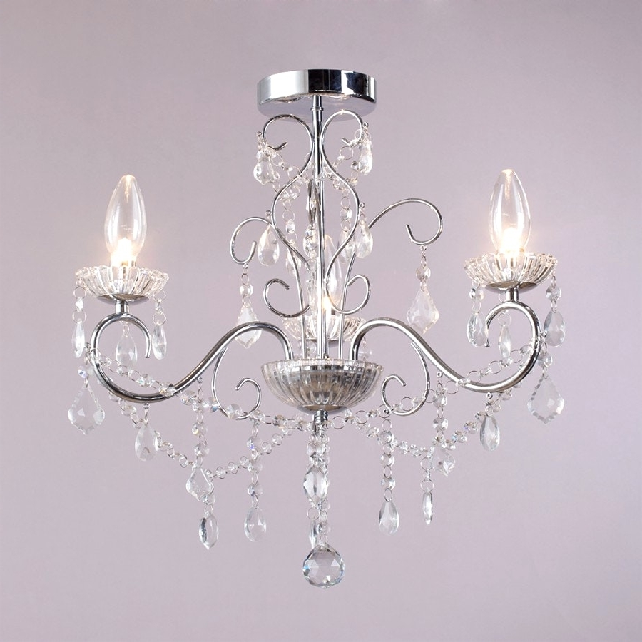 Best And Newest Mini Bathroom Chandeliers Regarding Chandeliers Design : Marvelous Mini Bathroom Chandeliers Small For (View 3 of 20)