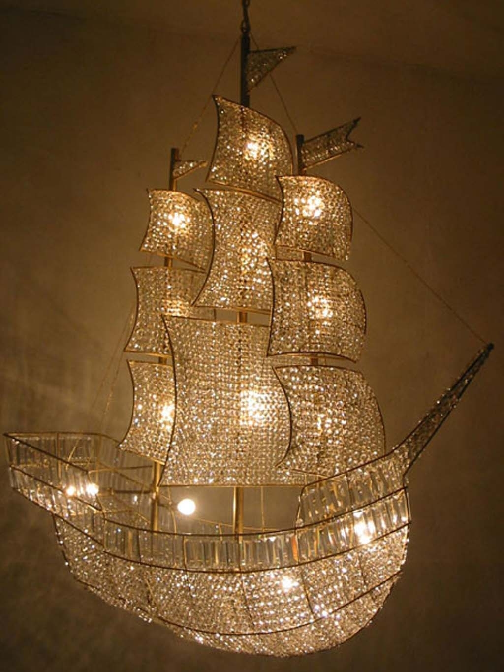 Best And Newest Pyramid And Globe Modern Crystal Chandelier (View 14 of 20)