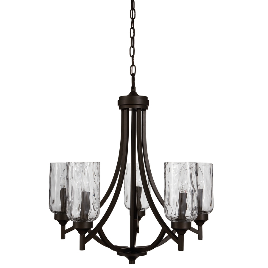 Best And Newest Shop Chandeliers At Lowes Regarding Candle Light Chandelier (View 17 of 20)