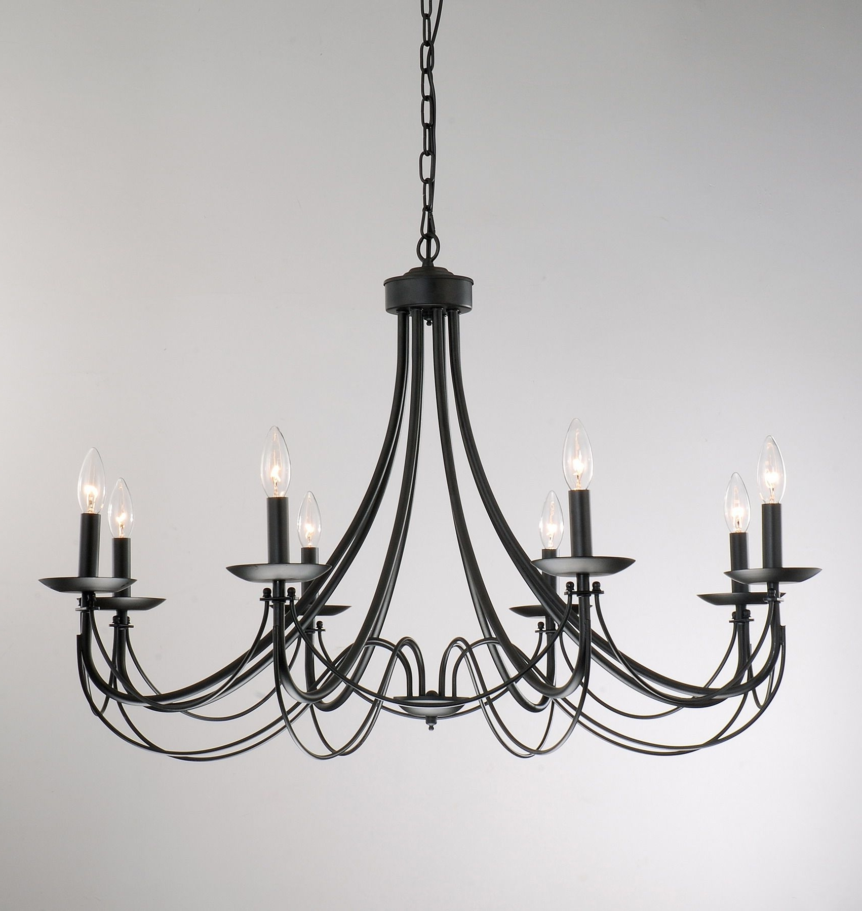 Black Chandelier, Chandeliers And Lights Regarding Black Chandeliers (View 4 of 20)